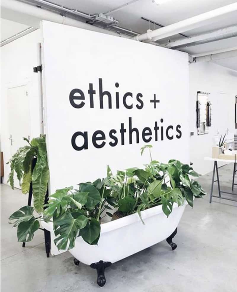 Ethics-aesthetics
